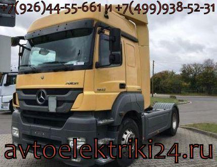 Диагностика грузовых автомобилей Mercedes-Benz
