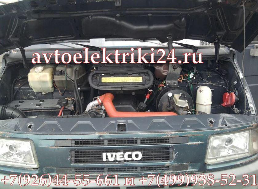 Iveco Daily 35 2004 2,3d не заводится