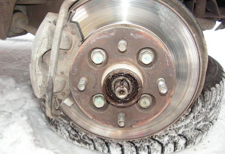 Замена ступичных подшипников грузовик