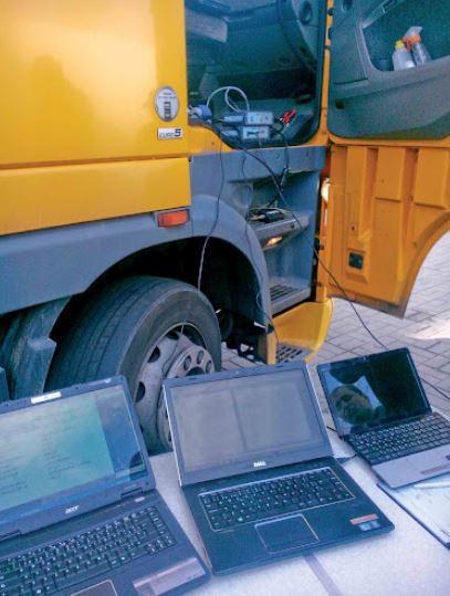 диагностика грузовых автомобилей в Москве и Мос области Параметрирование, калибровка, ремонт;