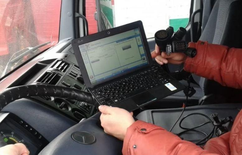 Диагностика грузовиков Компьютерная диагностика спецтехники