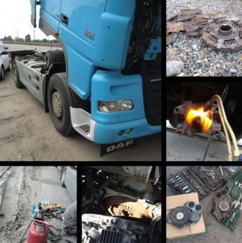 Диагностика грузовиков (Мерседес, Volvo, Хендай, Рено, Скания, Даф …) на выезде круглосуточно в Москве и Московской области