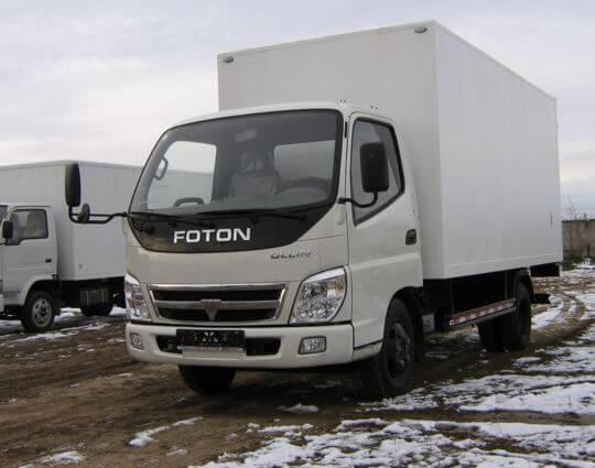 Диагностика и ремонт грузовика Foton (Фотонов) Москва и Московская область выезд на место поломки