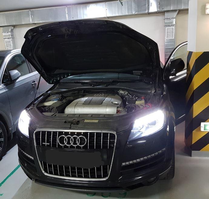Поиск неисправности, ремонт Audi Q7, 2010 г. в.