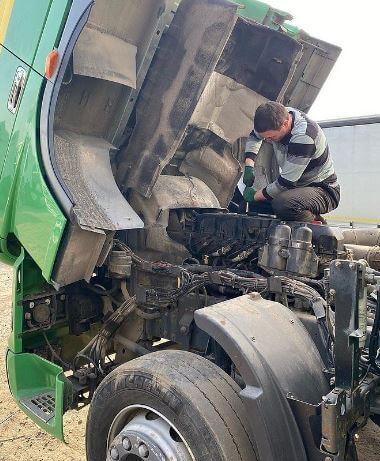 Ремонт грузовиков DAF (Даф 95 - 105 - XF106) с выездом в Москве;