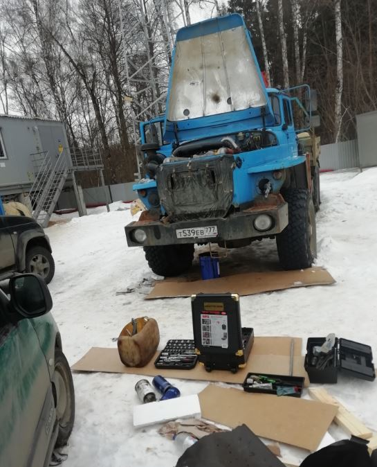 Техническое обслуживание грузовиков